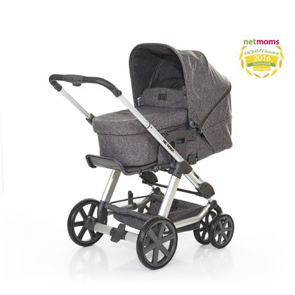 ABC Design Turbo 6 - The swivel - action and lockable double front wheel design make the ABC Turbo 6s for a very few baby strollers.