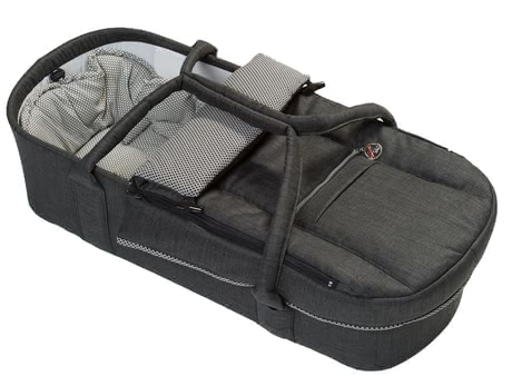 Hartan Combi carrycot -  The Hartan Combi carrying bag is enhanced on all sides and turns your stroller into a full pushchair