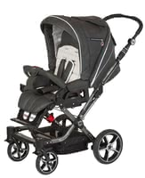 Hartan Stroller Topline S - The Hartan Topline S offers thanks to the lockable swivel front wheels a lot of mobility and comfortIn all colors of the collection 2012 available