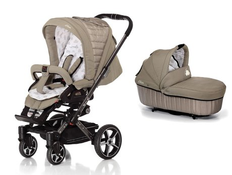 Hartan Stroller VIP XL -  The Hartan VIP XL comes complete with sport stroller seat + folding carrybag and offers you and your sweetie a lot of comfort