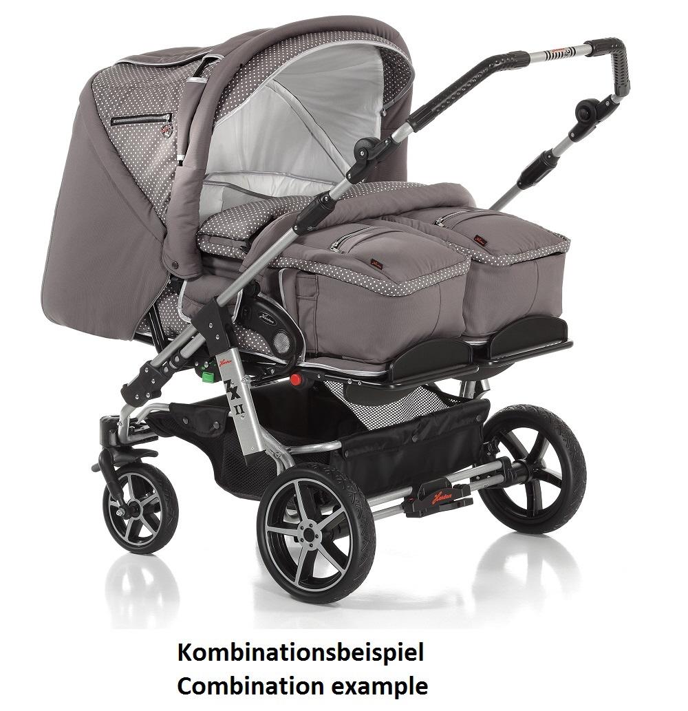Zwillingskinderwagen maxi cosi  Hartan Zwillings- und Geschwisterwagen ZXII 2016 923 online kaufen ...