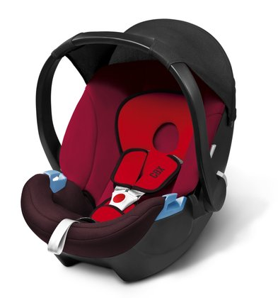 CBX by Cybex infant carrier Aton Basic Rumba Red - dark red 2017 - large image