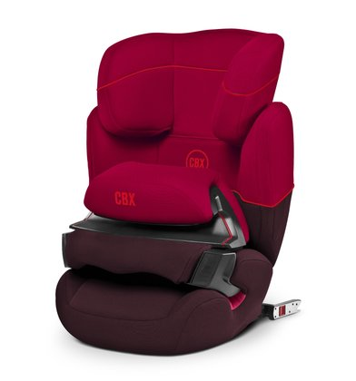 Детское автокресло CBX by  Cybex Aura-Fix Rumba Red - dark red 2017 - большое изображение