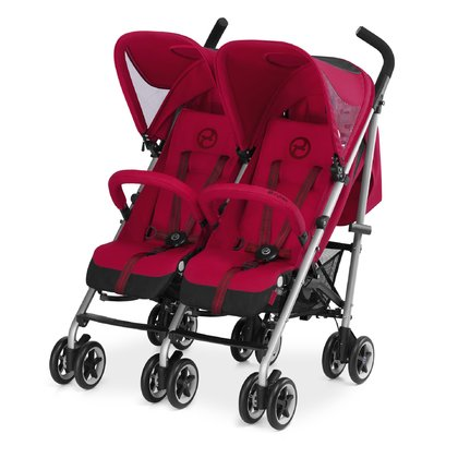 Cybex Twin Buggy Twinyx - The twin-buggy Cybex Twinyx provides optimum driving comfort and is equipped with an individual adjustable XXL sun canopy