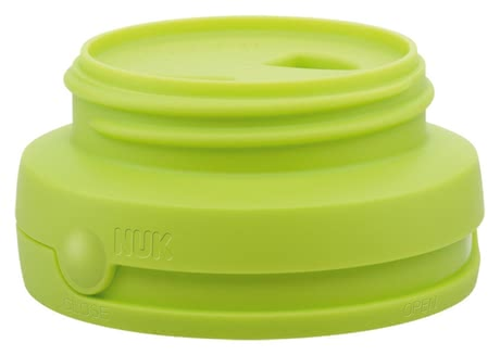 NUK Open & Close twist cap - The handling of the NUK Open & Close twist lock is very easy, very hygienic and saves time.