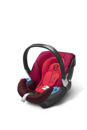 Cybex baby car seat Aton 2 Poppy Red-red 2013 - 大图像