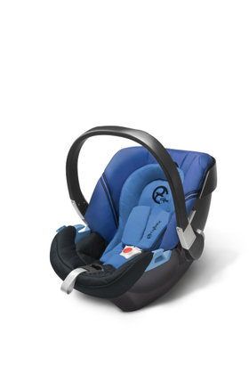 Cybex baby car seat Aton 2 Heavenly Blue-blue 2013 - большое изображение