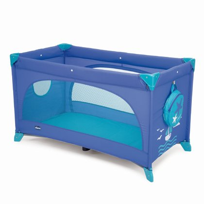 Chicco Travel cot Easy Sleep Marine 2017 - large image