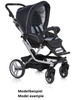Teutonia Pushchair Mistral S Made for You 4800_Gala Black 2013 - large image 2