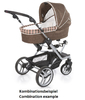 Teutonia Pushchair Mistral S Made for You 4855_Checked Pastel 2013 - большое изображение 3