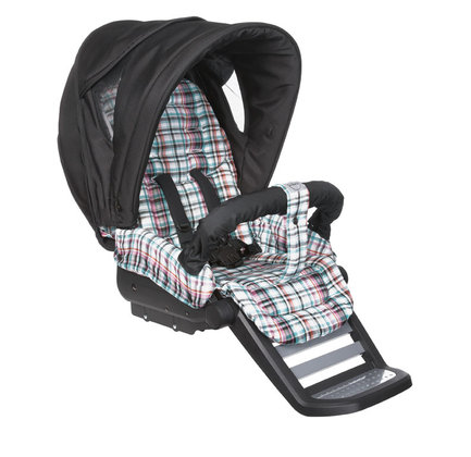 Teutonia Pushchair Mistral S Made for You 4855_Checked Pastel 2013 - большое изображение