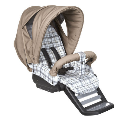 Teutonia Pushchair Mistral S Made for You 4860_Classic Check 2013 - большое изображение