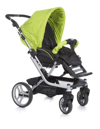 Teutonia Pushchair Mistral S Active & Dynamic 4960_Fresh Green 2013 - large image