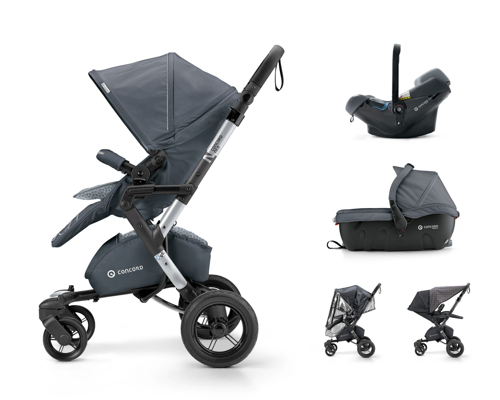 Concord NEO Travel Set 2018 Steel Grey - Comprar en kidsroom ...