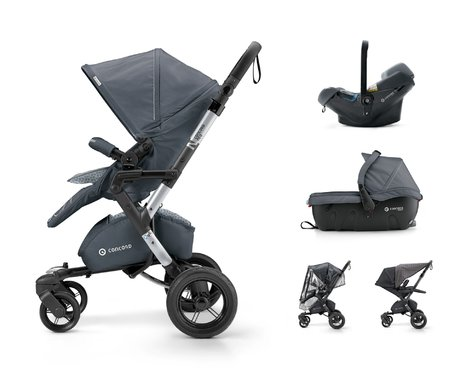 Concord NEO Travel Set - The NEO Travel-Set consists of the Concord NEO buggy and two coordinated TS components.