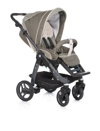 Teutonia Pushchair Cosmo Cool & Classic 4940_Snug Suede 2013 - большое изображение