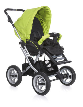 Teutonia Pushchair Mistral P Active & Dynamic 4960_Fresh Green 2013 - large image