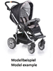Teutonia Pushchair Fun System Made for You 4800_Gala Black 2013 - большое изображение 2