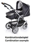 Teutonia Pushchair Fun System Made for You 4800_Gala Black 2013 - большое изображение 3