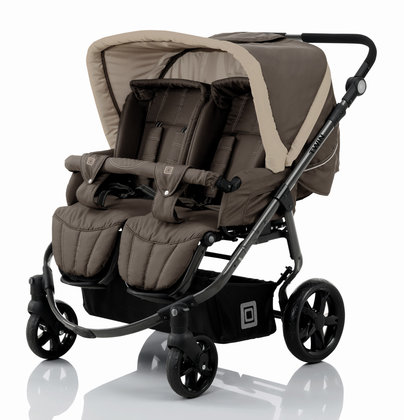 Babywelt Moon pushchair Twin Mud & Sand 2013 - 大图像