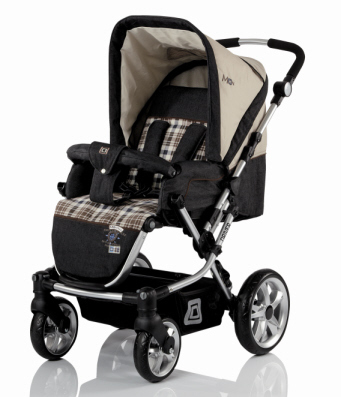 Babywelt child s pushchair Driver + carrycot Jeans 2013 - 大图像