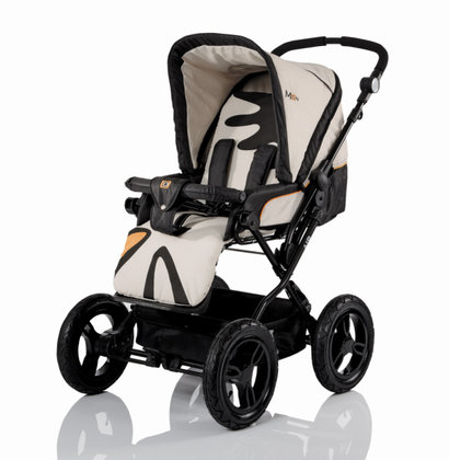 Babywelt Moon child s pushchair Air + carrycot Jet Set 2013 - 大图像
