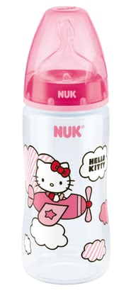 NUK Hello Kitty First Choice+ baby bottle, Silicone Anit-Colic teat 2014 - Image de grande taille