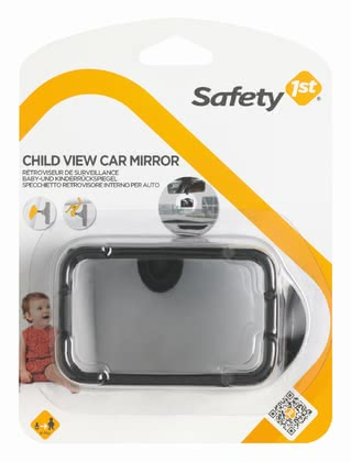 Safety 1st 後視鏡 -  Thanks to the safety mirror you have always a look on your little darling also contrary to the driving direction