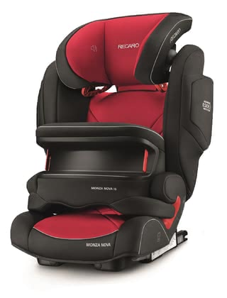 Siège enfant Monza Nova IS Seatfix, par Recaro Racing Red 2017 - Image de grande taille