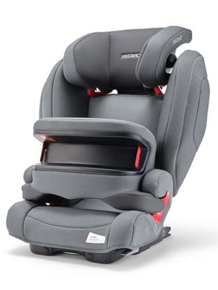 Детское автокресло Recaro Monza Nova IS Seatfix Prime Silent Grey 2020 - большое изображение
