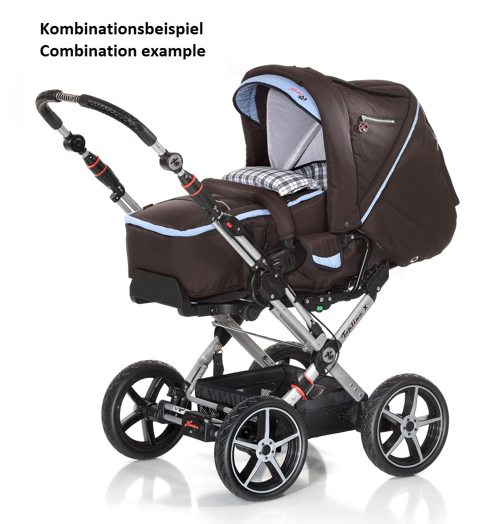 hartan kinderwagen topline x mit handbremse 2013 530. Black Bedroom Furniture Sets. Home Design Ideas
