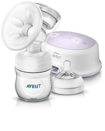 AVENT Comfort single electric breast pump -  The Philips Avent Electronic breast pump is a portable breast pump.