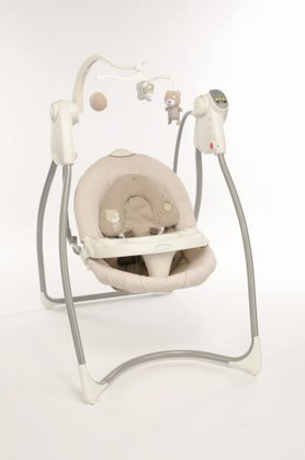 Graco comfort swing Lovin Hug with plug Benny & Bell 2014 - large image