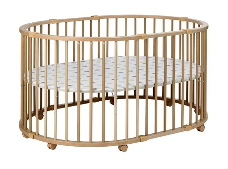 Geuther Playpen Baby-Parc, natural Sterne 2015 - 大圖像