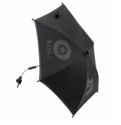Kiddy Parasol -  The Kiddy parasol protects your loved one from direct sunlight, is suitable for the baby car seat Evolution pro and can be mounted with an adapter on all standard strollers