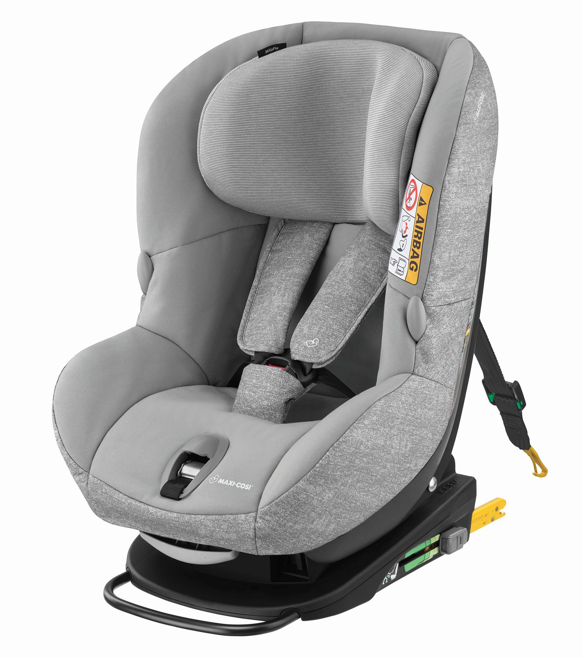 silla de coche maxi cosi milofix 2018 nomad grey comprar en kidsroom sillas de coche. Black Bedroom Furniture Sets. Home Design Ideas