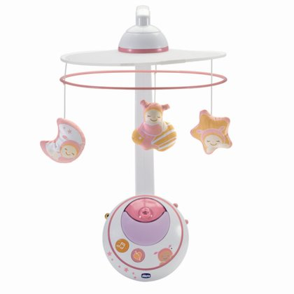 Chicco Mobile with star projector - The mobile and night sky projector from the First Dreams collection by Chicco enchants a magical ambience in the baby room of your newborn baby.