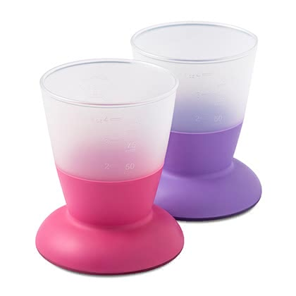 BabyBjörn beaker -  The colorful cup of BabyBjörn is the ideal drinking vessel for learning for your sunshine so it learns how to drink as his role model, from an open glass.