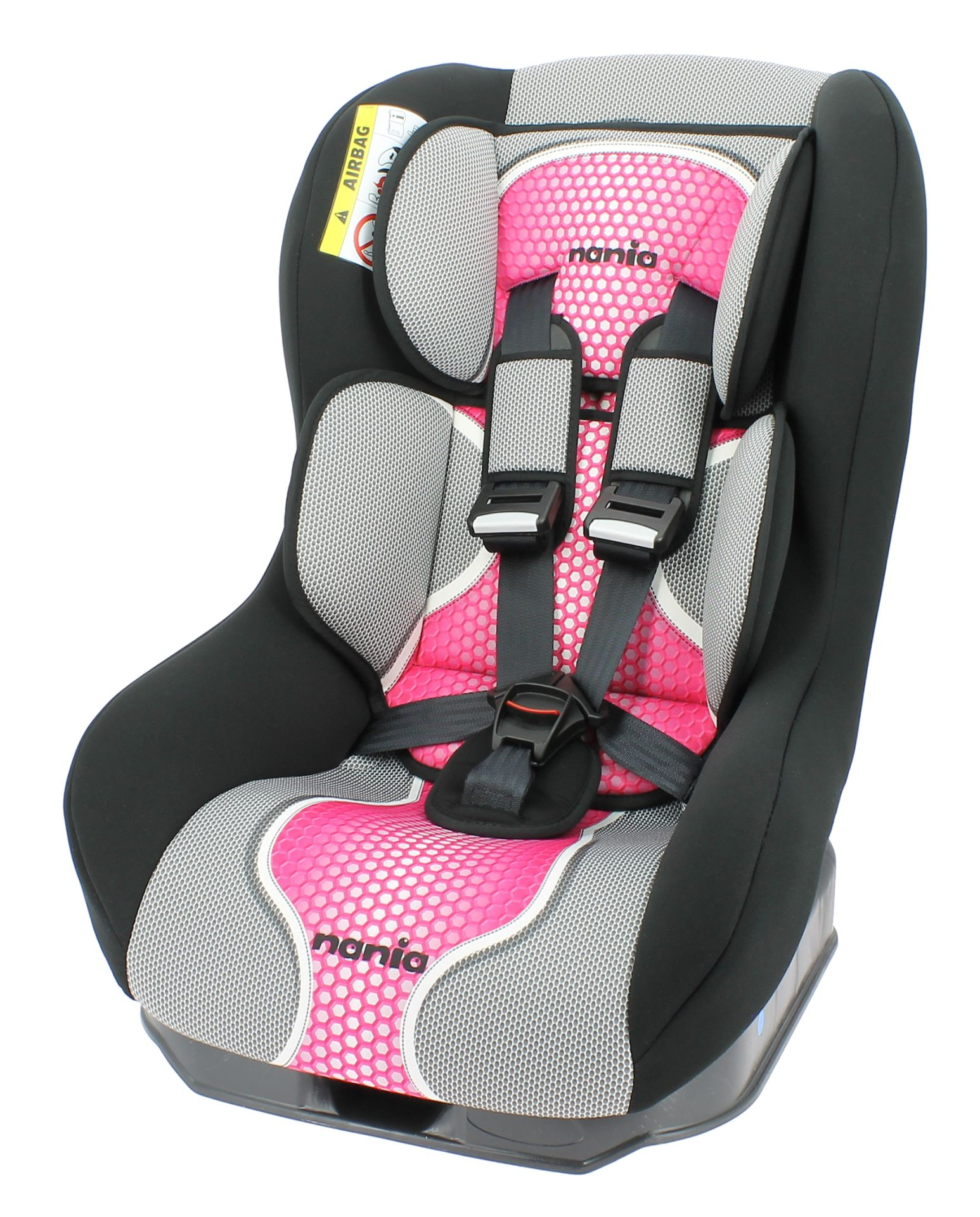 Si ge enfant safety plus nt par osann 2016 pop pink for Siege enfant