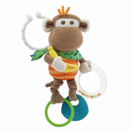Chicco Vibrating monkey rattle 2016 - large image