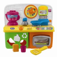Chicco Talking kitchen -  The colorful and fully equipped, speaking kitchen Chicco is the perfect toy for aspiring chefs
