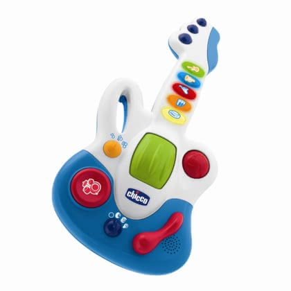 Chicco 玩具吉他 Baby Star -  The stage is set for the new children star - with the Chicco Baby Star Guitar is your little darling to a great guitar player.