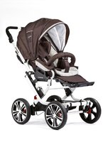 Gesslein F10 Air+ stroller - The Gesslein F10 stroller offers driving comfort on every kind of road thanks to 4 big wheels