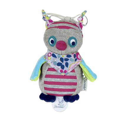 Sterntaler Musical toy S - The cute and soft mini-lullaby cuddly toy by Sterntaler lulls your sweetheart through the lullaby gently into sleep.