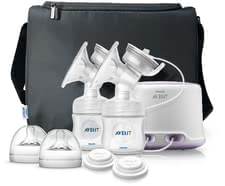 AVENT 電動舒適擠乳器 (雙吸頭) - The Avent comfort twin electronic breast pump is ideal for mommies which regularly express breast milk.