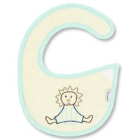 Sterntaler Baby velcro bib - With the Sterntaler baby bib with Velcro can something go wrong sometimes. The moisture-proof plastic-reverse side protects the clothing of your sunshine.