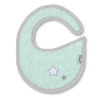 Sterntaler 圍兜兜 - With the Sterntaler baby bib with Velcro can something go wrong sometimes. The moisture-proof plastic-reverse side protects the clothing of your sunshine.