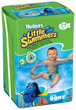 Huggies Couches pour piscine, taille 3/4 - Image de grande taille
