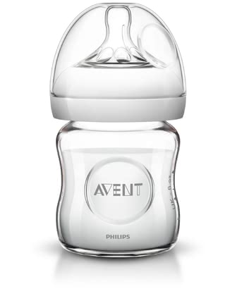 AVENT 安撫玻璃奶瓶 - With the Avent Close to nature glass bottle you can make bottle feeding for your little one even more natural.