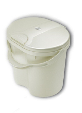 Rotho Diaper bucket TOP -  Stylish and practical, the Diaper Bucket out of the house Rotho.